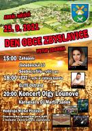 Plakát na Den obce